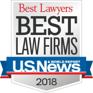 Best Law Firms 2018 Badge