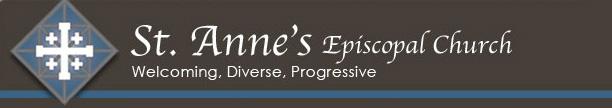 St. Anne's e-news header