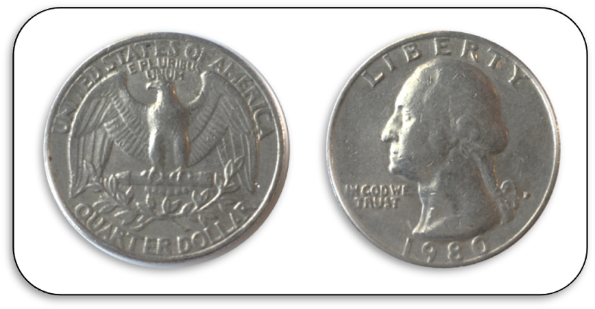 two sides of a quarter