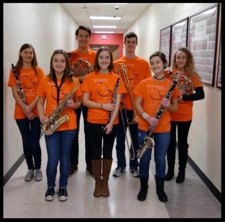 members of Wayne_s honor band