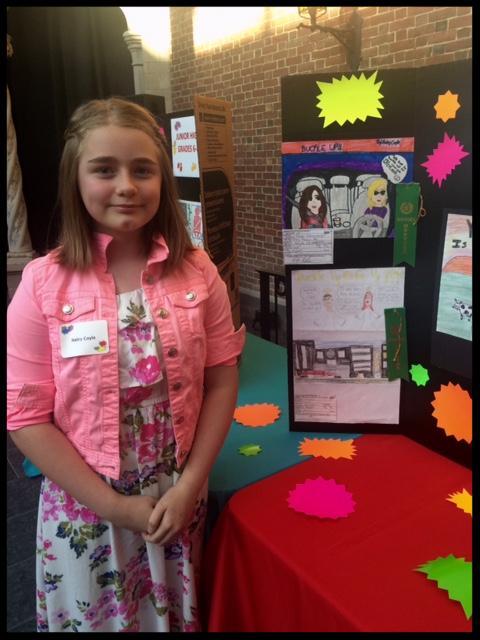 AAA Safety Poster winner Hayle
