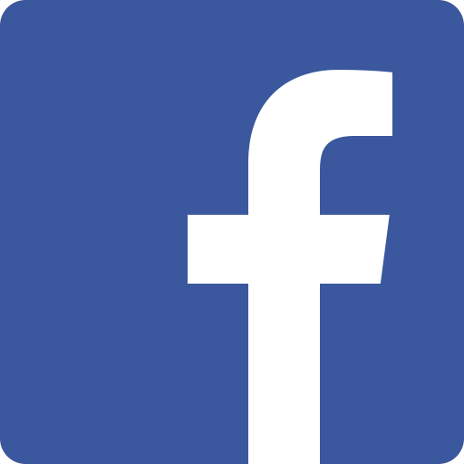 Facebook logo_ white F on a blue square background
