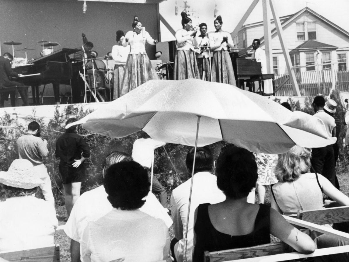 Newport Jazz Festival circa 1954