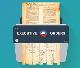 electric shredder with US Constitution