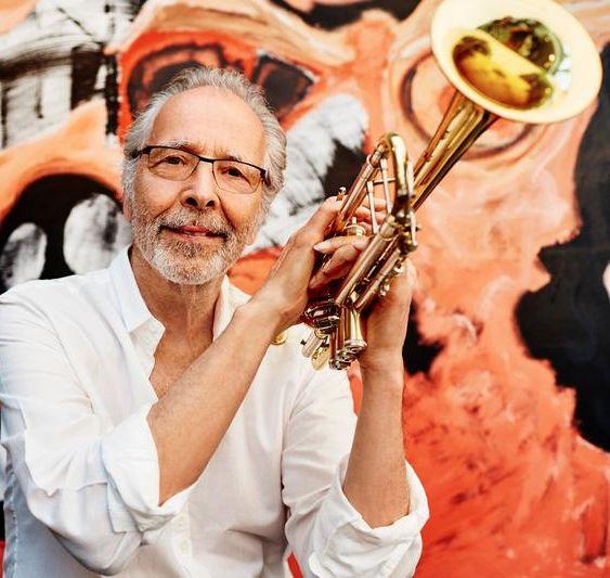 Herb Alpert with trumpet