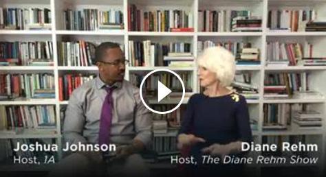 Joshua Johnson and Diane Rehm