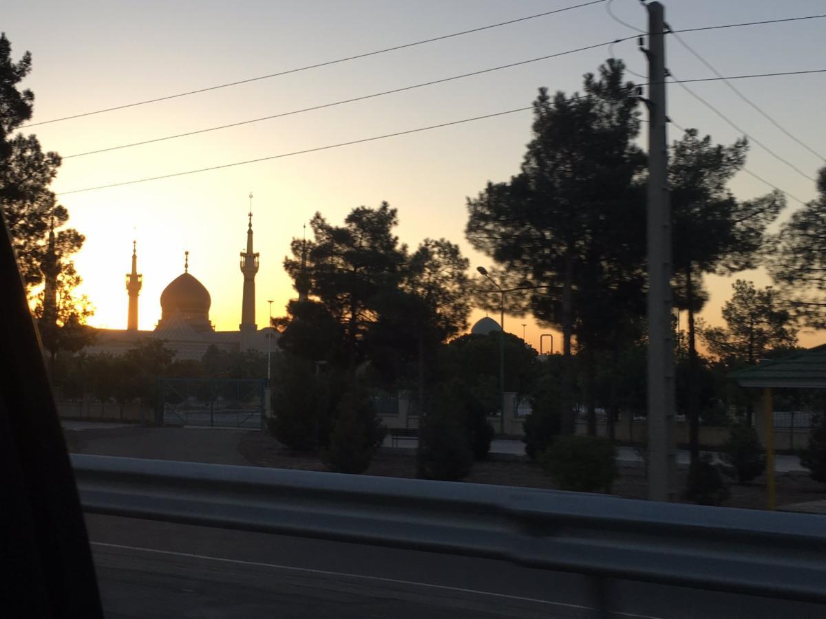 sunrise over mosque