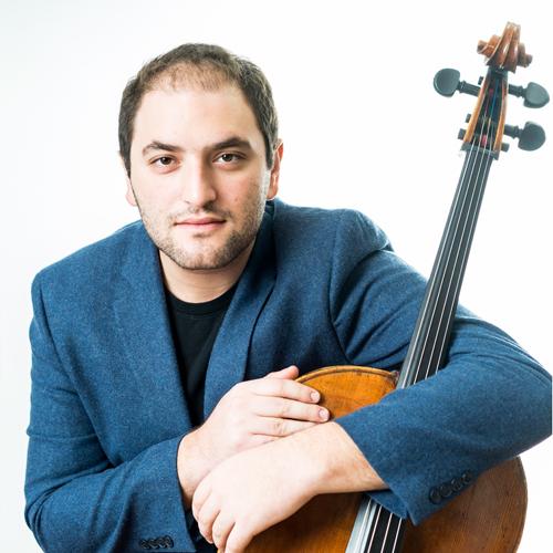 Julian Schwarz with cello