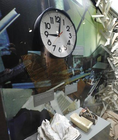 clock stopped at time of blast
