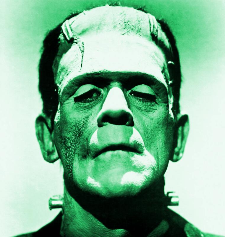 from the movie Frankenstein
