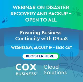 Cox Business Webinar DRaaS