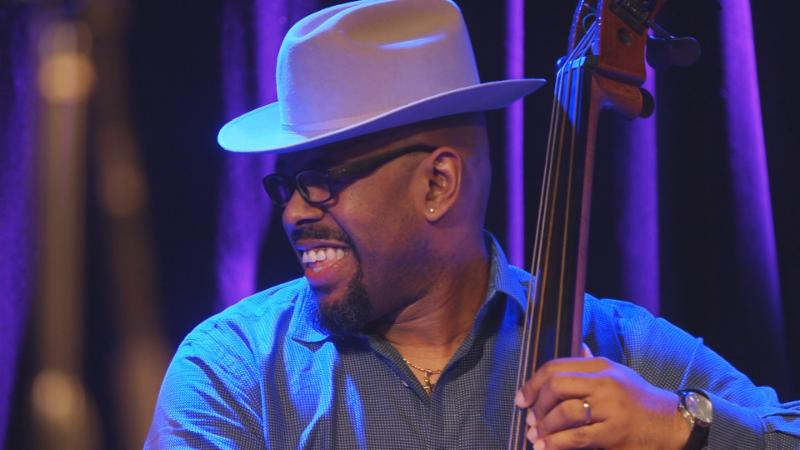 Christian McBride playing bass