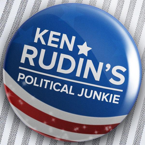 Ken Rudin's Political Junkie campaign button
