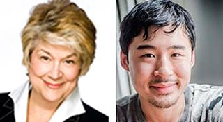 Lynne Rossetto Kasper and Francis Lam