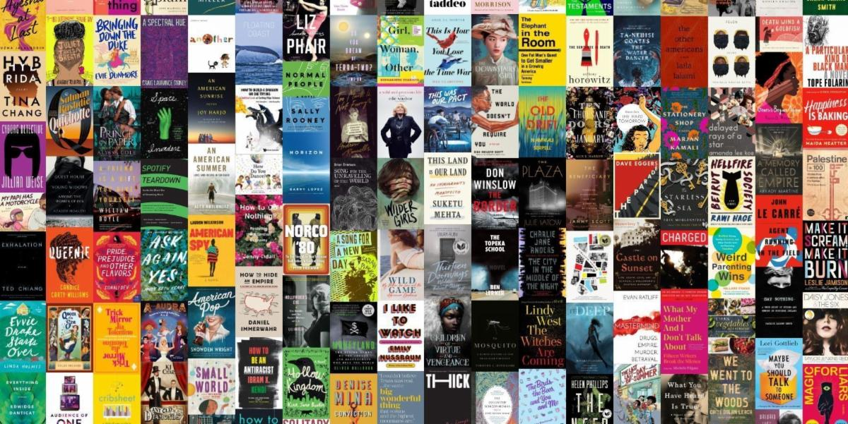 collection of book jacket covers