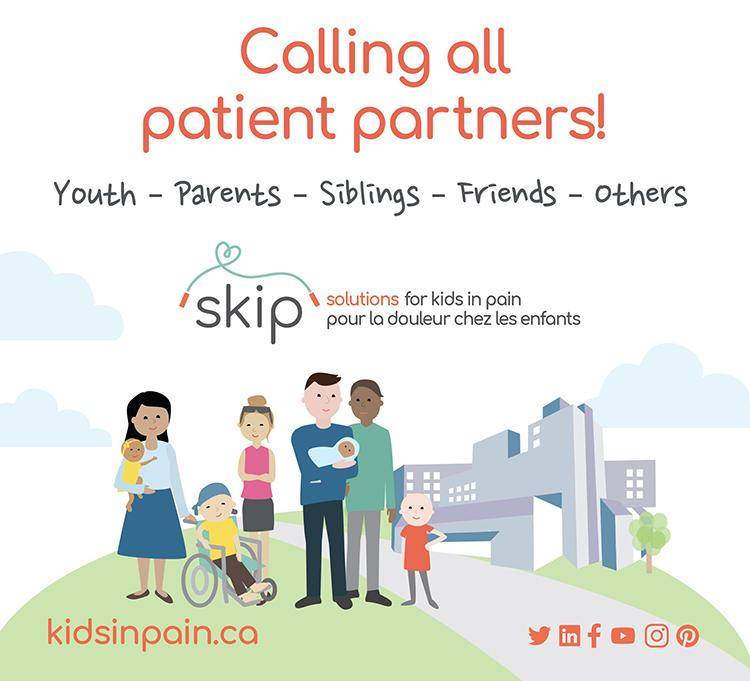 SKIP graphic - Call for patient partners