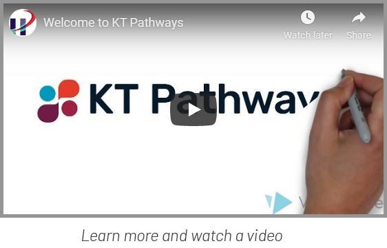 Screen capture of KT Pathways video