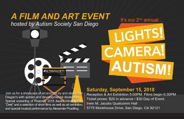 Lights Camera Autism 2018