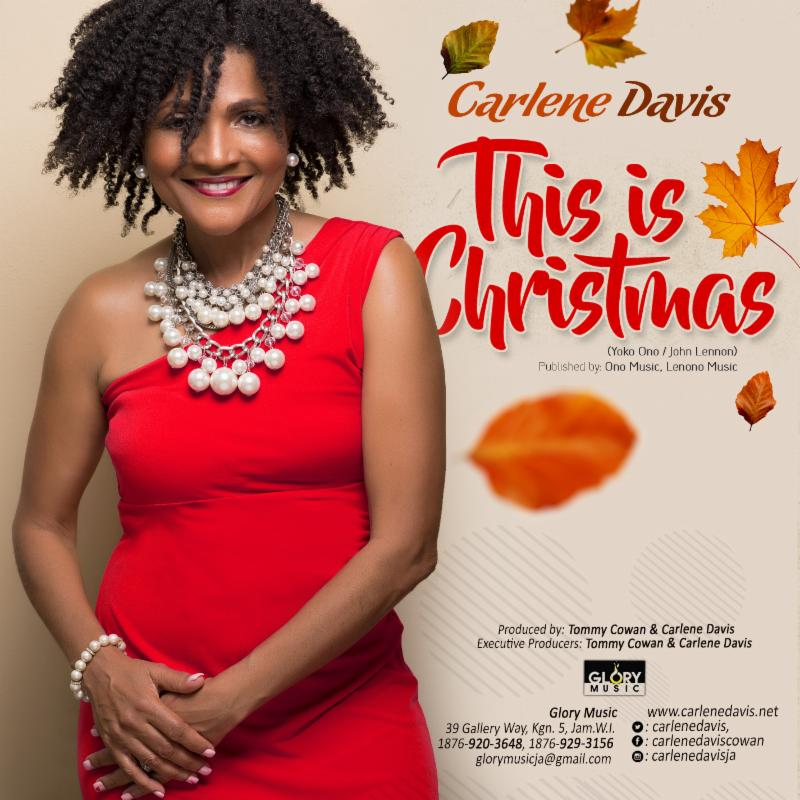 "CARLENE DAVIS RELEASES HER RENDITION OF THE CLASSIC ""THIS IS CHRISTMAS!"""