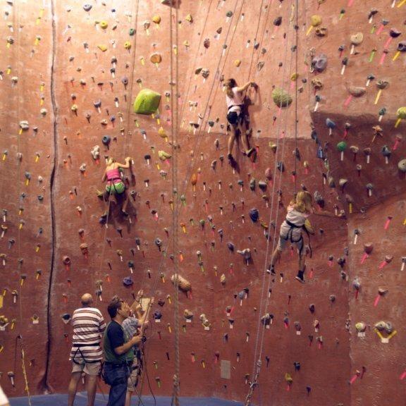 Rock Climbing Lock-In 2