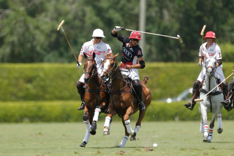US Polo Championships Rounds Audi Takes Down Coca-Cola 14-8