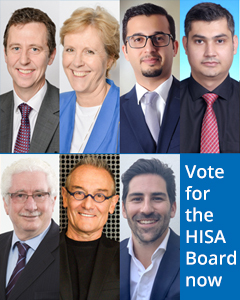 Vote for the HISA Board now