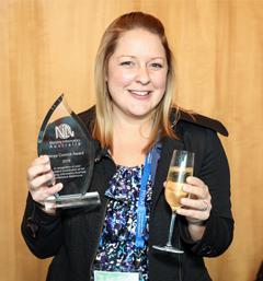 Moya Conrick Prize winner Leanna Woods