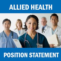 Allied Health Position Statement