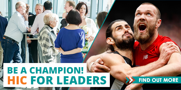 Be a champion! HIC for leaders
