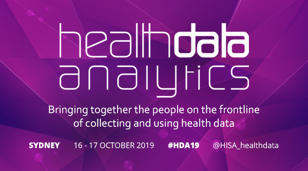 Health Data Analytics Conference - 16-17 October in Sydney