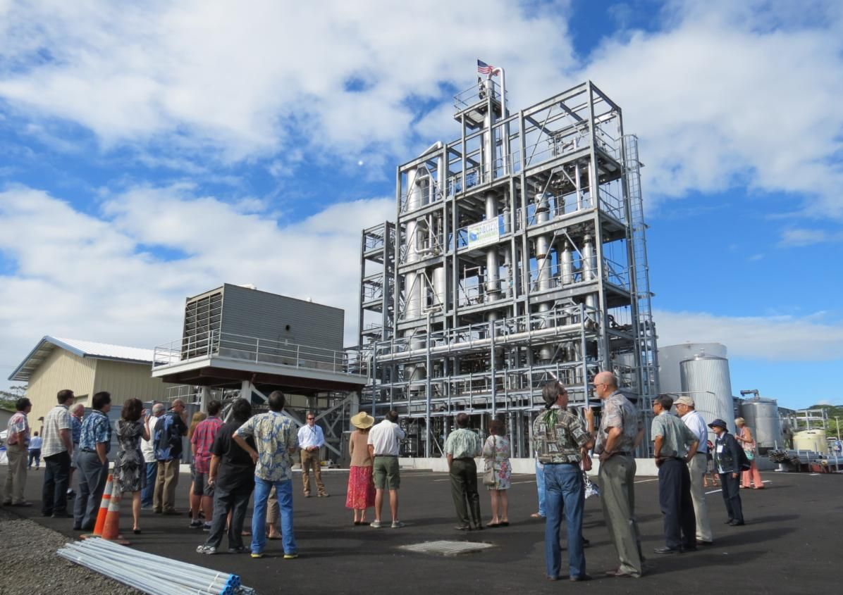Hawaii Island Biodiesel Plant