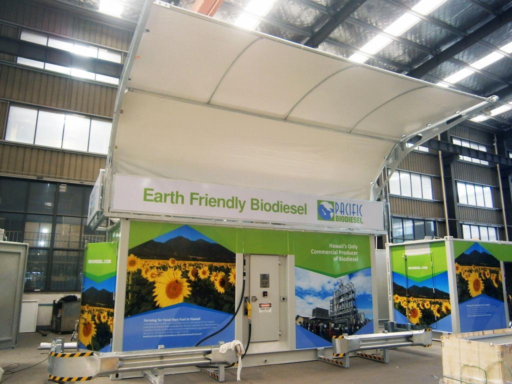 Mobile Biodiesel station 09-2021
