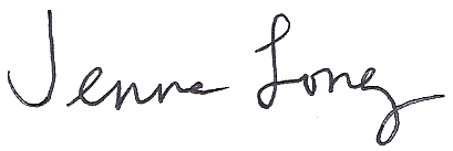 Jenna Long signature