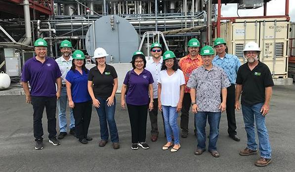 MECO HELCO plant tour