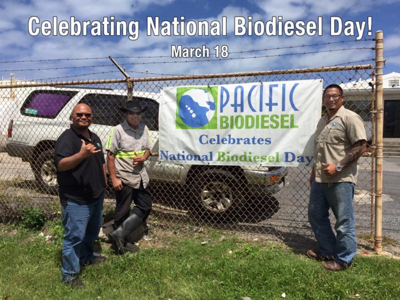 Ferd David Jason Biodiesel Day