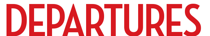 Departures Magazine logo