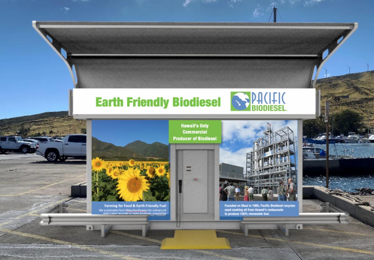 Mobile Biodiesel Station Rendering