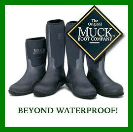Pick up Muck boots at Farmers Coop.