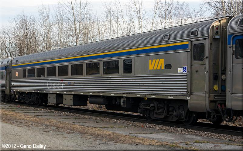 VIA HEP-2 Rail Car