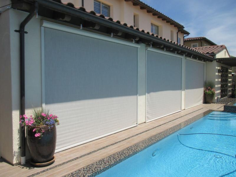 California Room - Motorized Power Screens Installed For You!