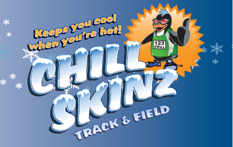"""3f2e1a9730041 The outdoor track   field season is heating up and you can stay cool with Chill  Skinz. Save 25% on your order using promo code """"coacho"""" and stock up on ..."""