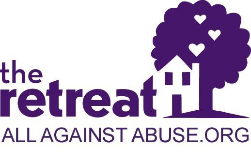 The Retreat logo, website AllAgainstAbuse.org
