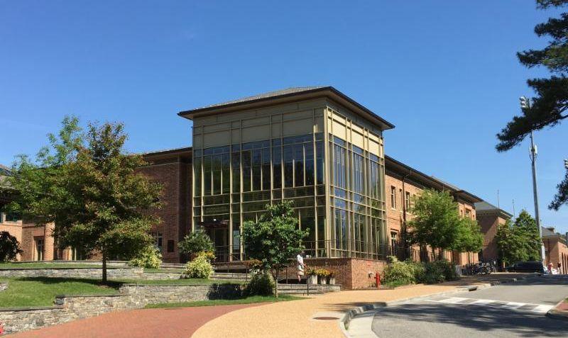 career center exterior windows