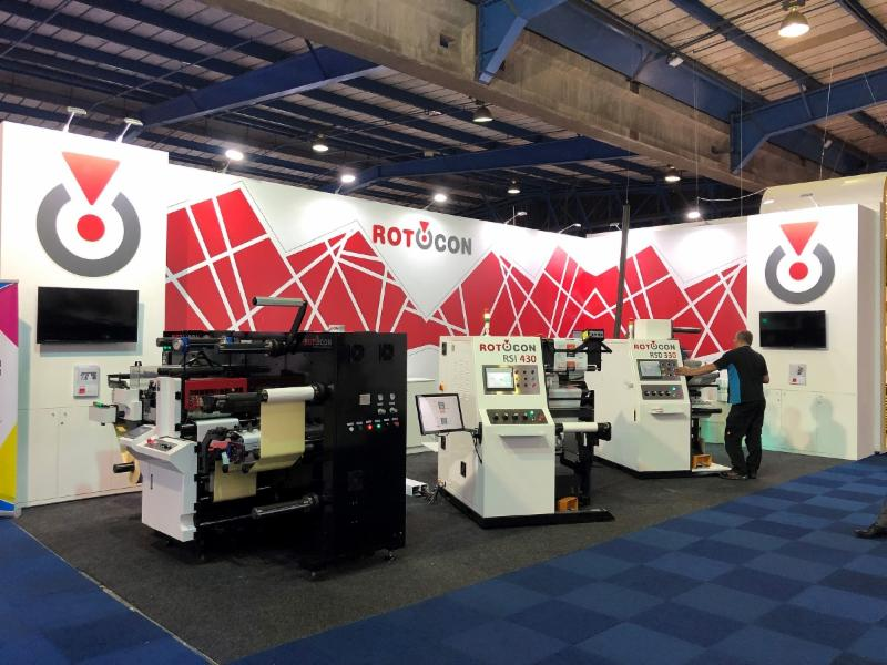 ROTOCON stand at Propak Africa 2019