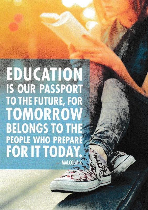 Malcolm X Quote about Education
