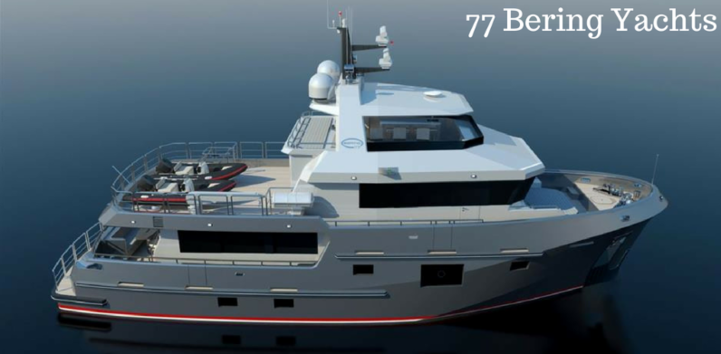 Building Brand New Bering Yachts