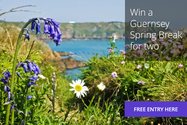 Win a 4 night Guernsey Spring Break for 2.