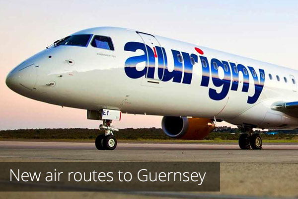 New flight routes to Guernsey
