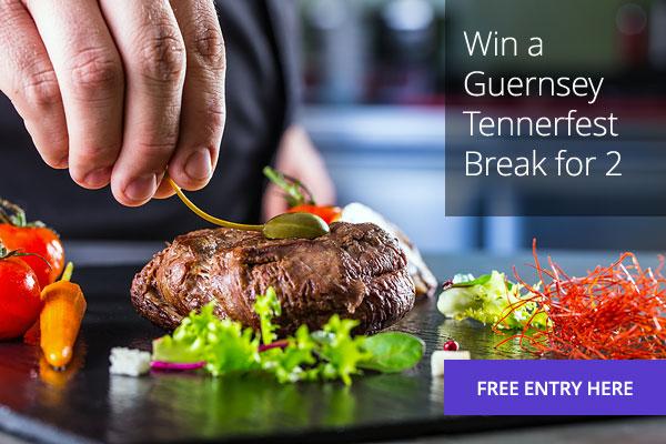 Win a Guernsey Tennerfest Break for two.