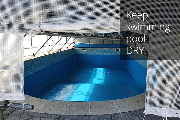 Hotel swimming pool refurbished.
